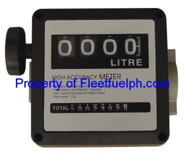 LLG120L Analog Flow Meter