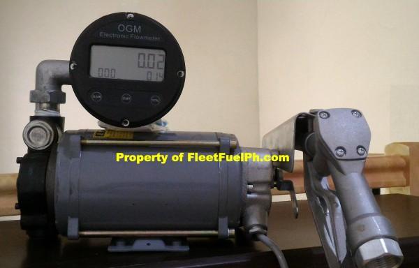 Ex-YTB60 w/ OGM25E Oval Gear Flowmeter