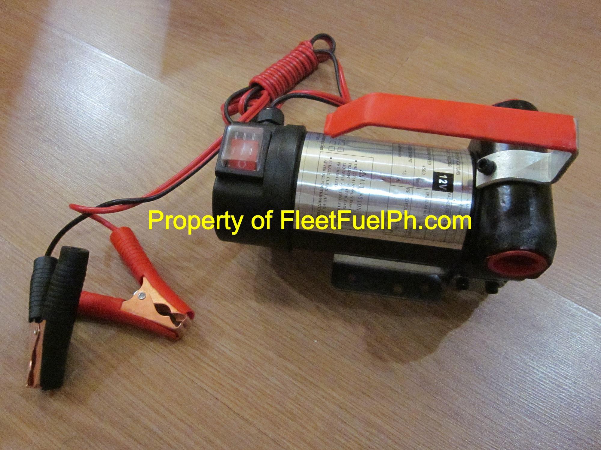 YB-1 12Vdc or 24Vdc Diesel Transfer Pump