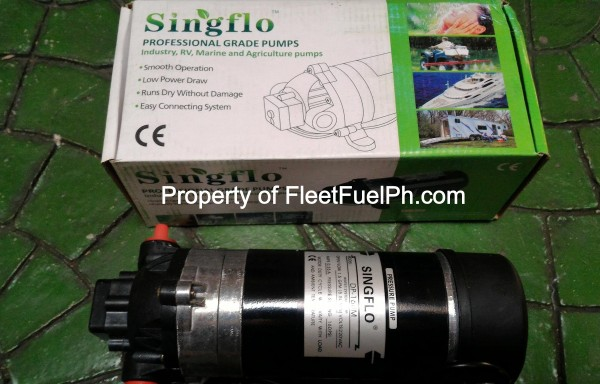 Singflo DP-160dc High Pressure Water Pump 12Vdc/24Vdc