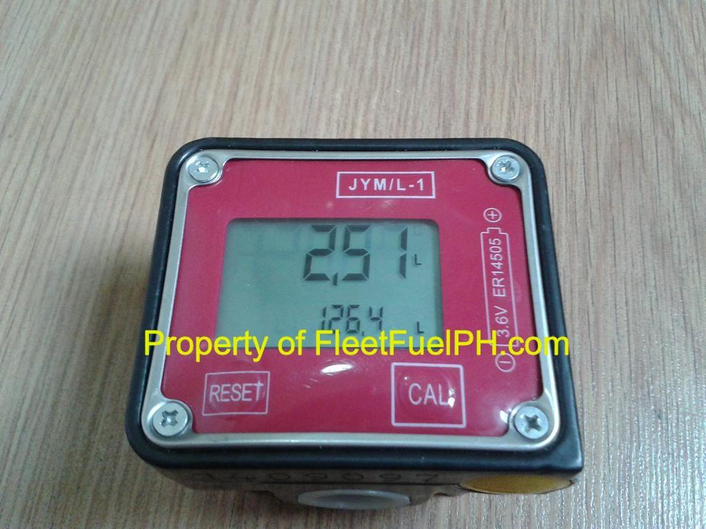 JYM-1 Digital Oval Gear Flow Meter