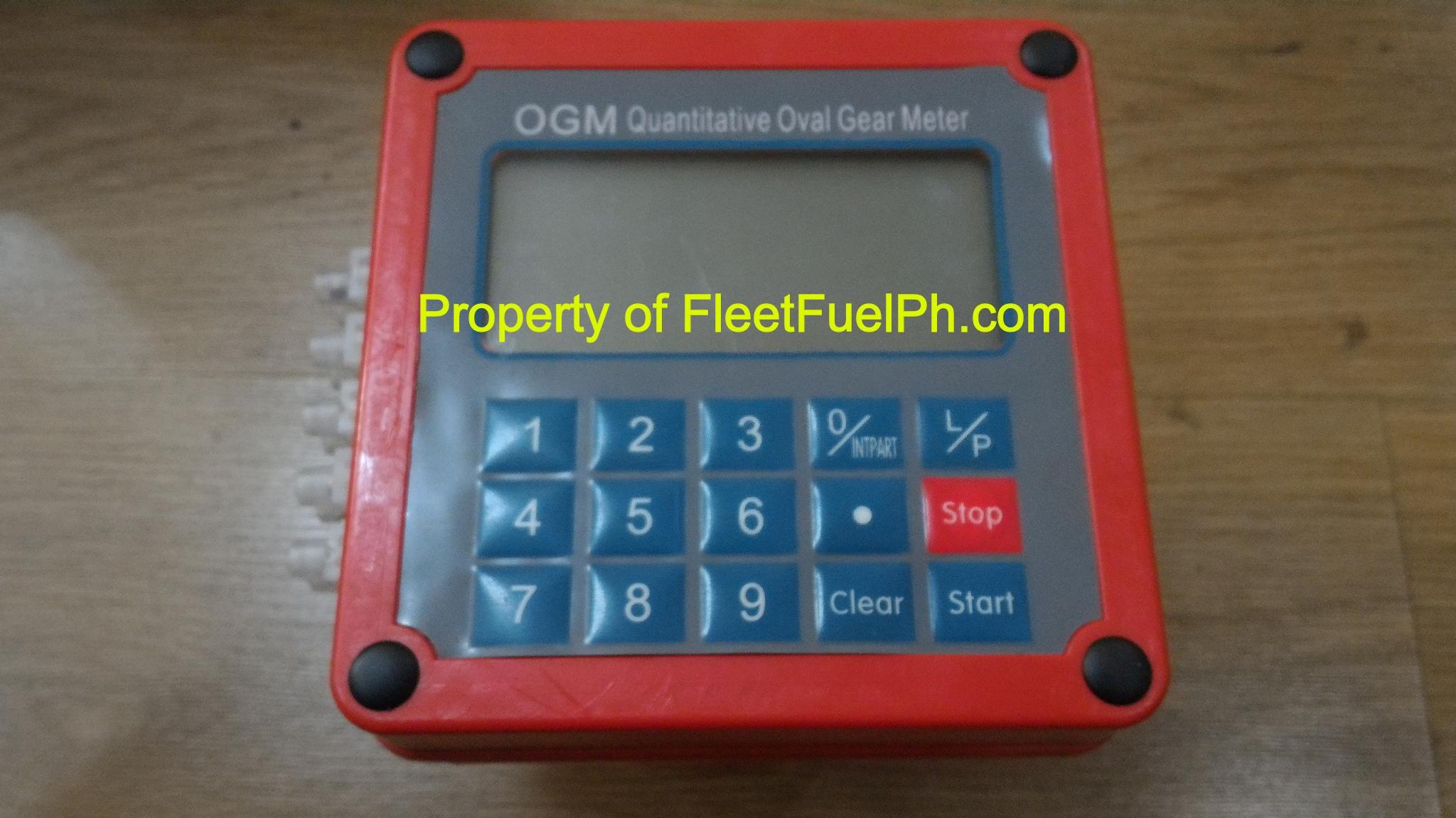 QGM-25N Digital Quantitative Oval Gear Flow Meter