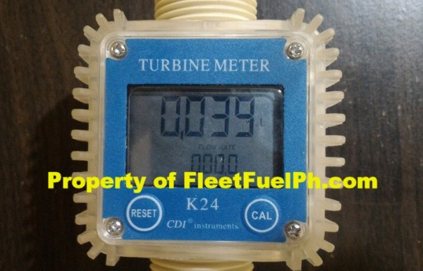 WL-4 Digital Turbine Flow Meter