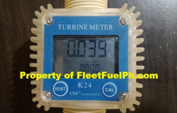 WL-4 Digital Turbine Flow Meter