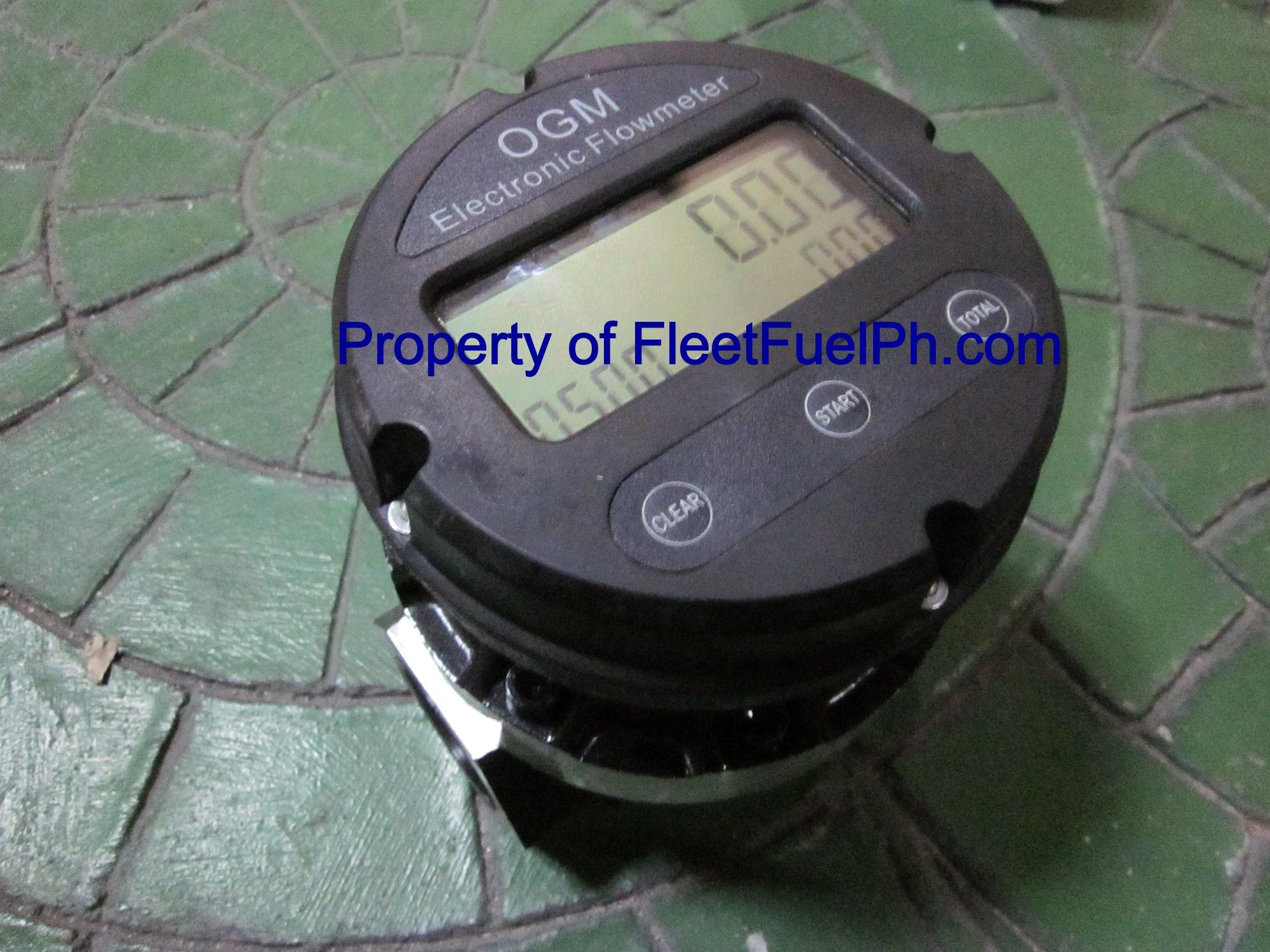 OGM-40E Digital Oval Gear Flow Meter