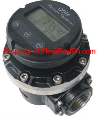 OGM-50E Digital Oval Gear Flowmeter