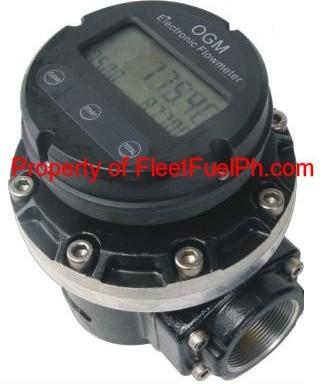 OGM-50E Digital Oval Gear Flowmeter