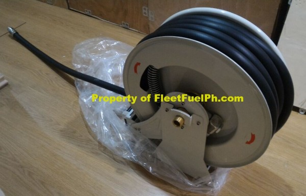 Spring Hose Reel with Nozzle 15 Meters
