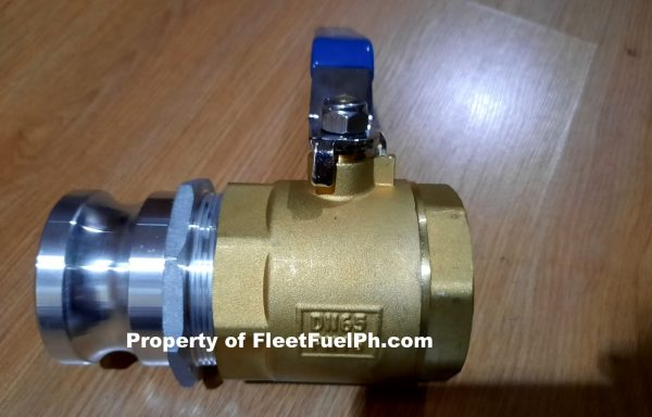 Discharge Ball Valve Brass